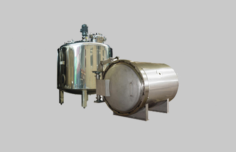 Various types of pressure vessels
